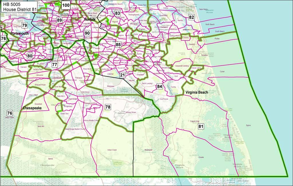 Map Of Virginia Richmond Sunlight » i- Radford Va